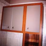 5 meble łazienkowe z frontami ze szkła i aluminium szafka pod wymiar