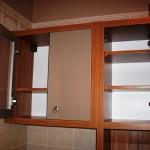 7 meble łazienkowe z frontami ze szkła i aluminium szafka pod wymiar