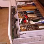 6 meble kuchenne w nowoczesnym stylu szuflady z organizerami